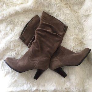 BCBG Suede Boots
